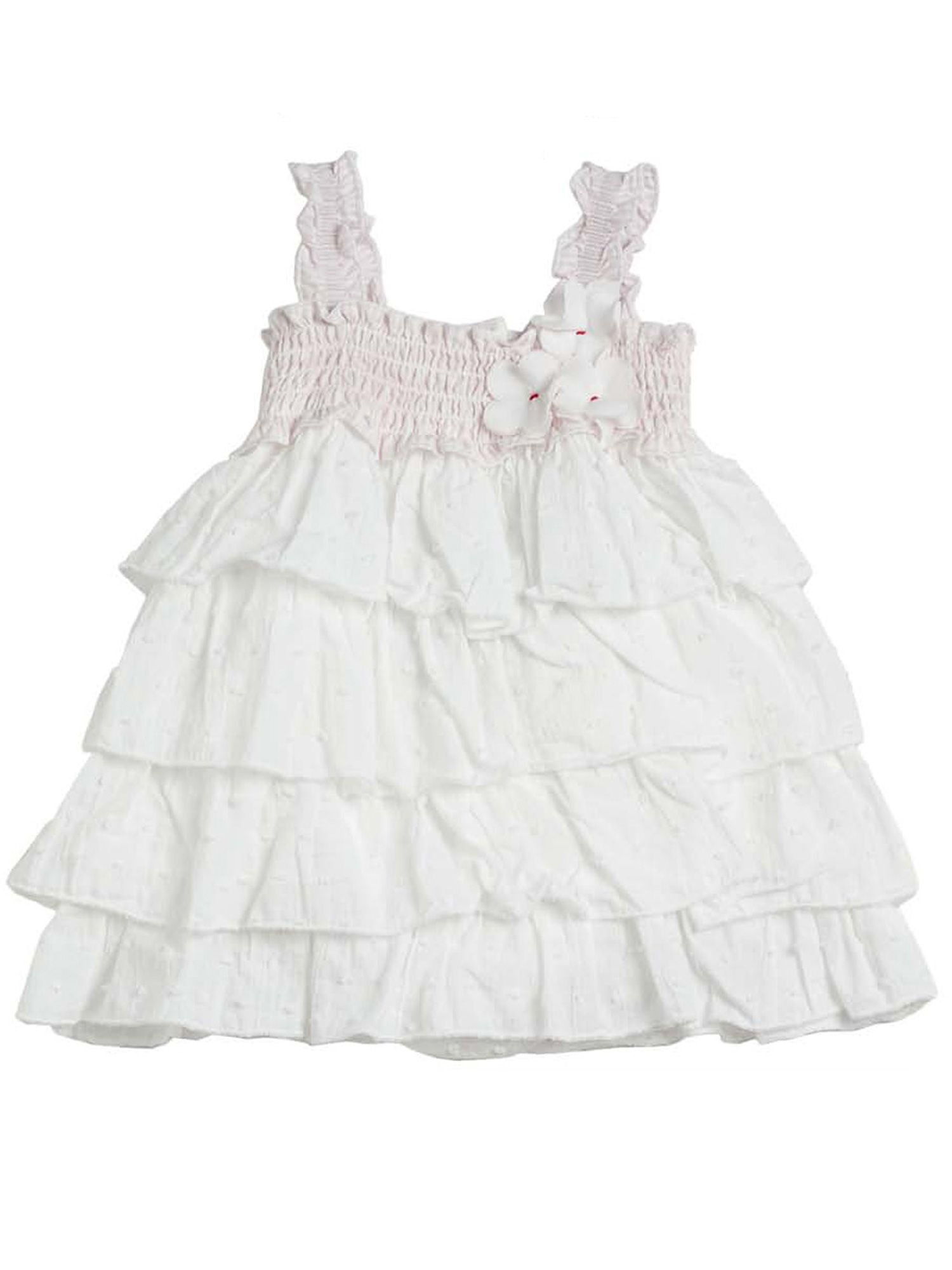 Baby girls cotton dress with knickers