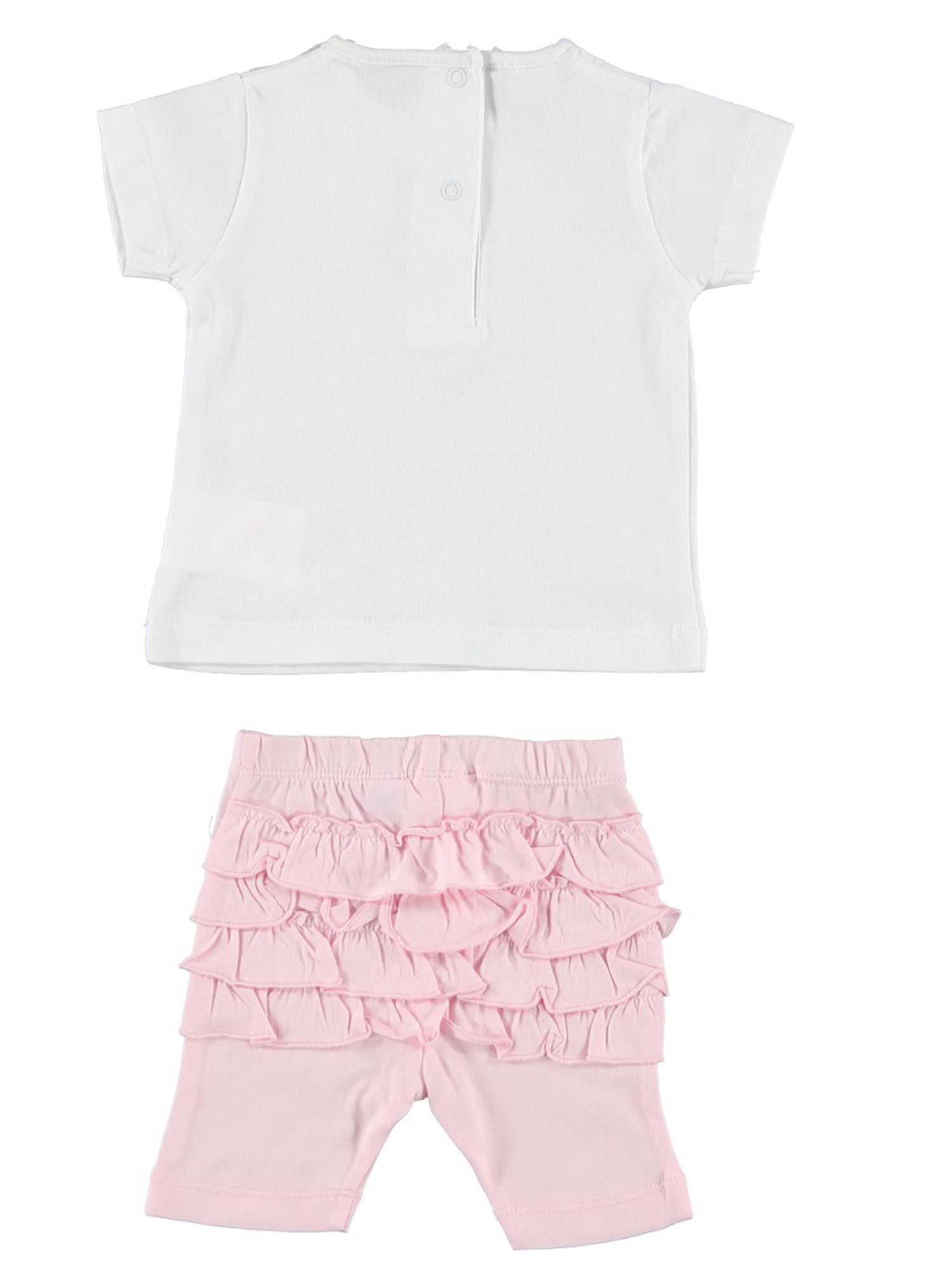 Girls cotton top and trousers set