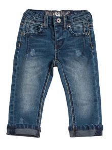 Boys overdyed jeans
