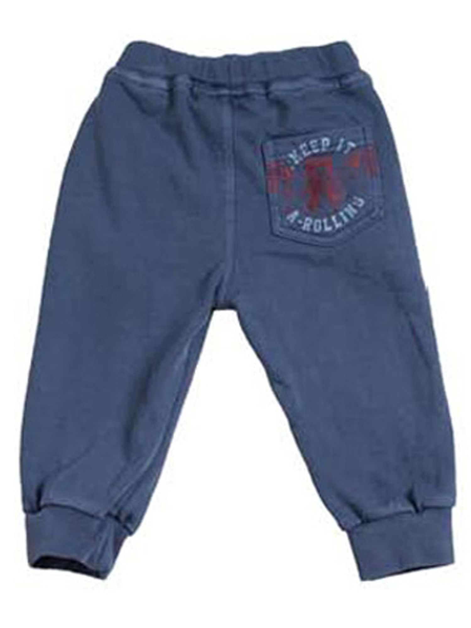 Boys delave fleece joggers
