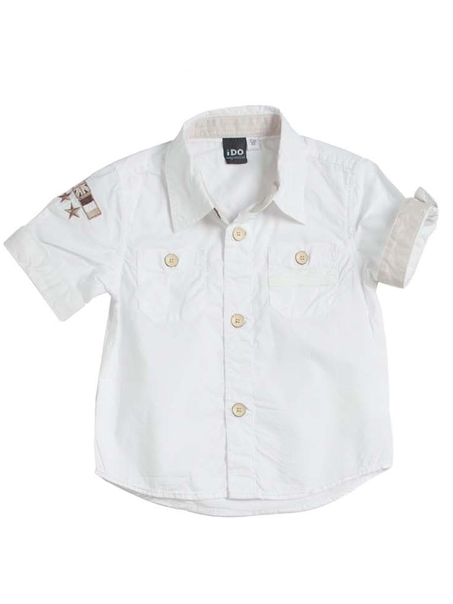Boys classic short sleeve shirt