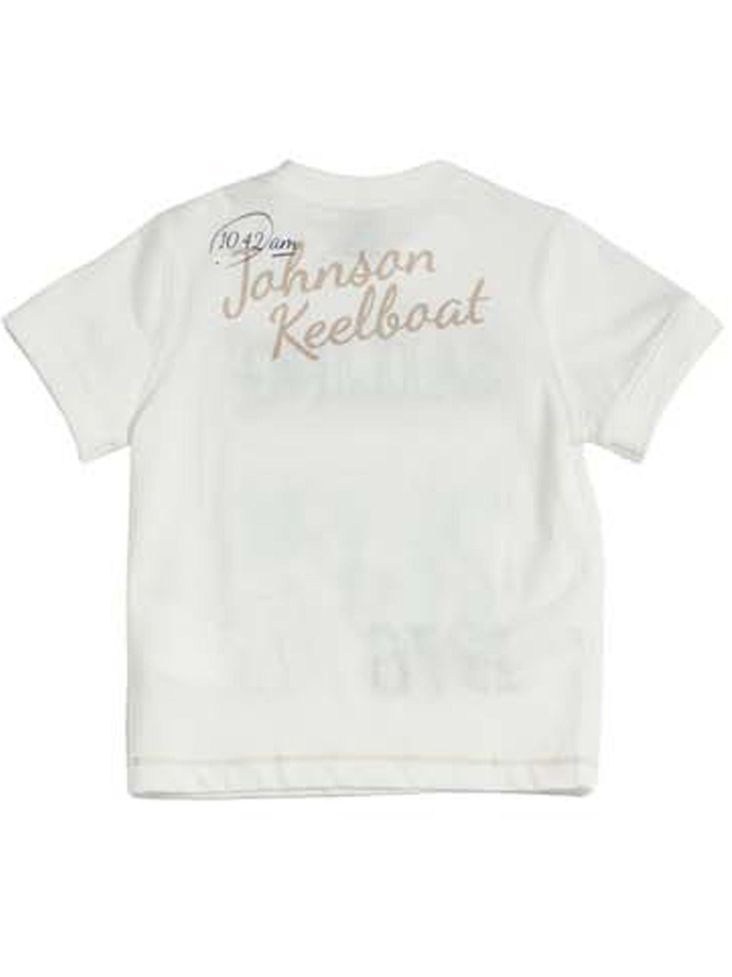 Boys front printed t-shirt