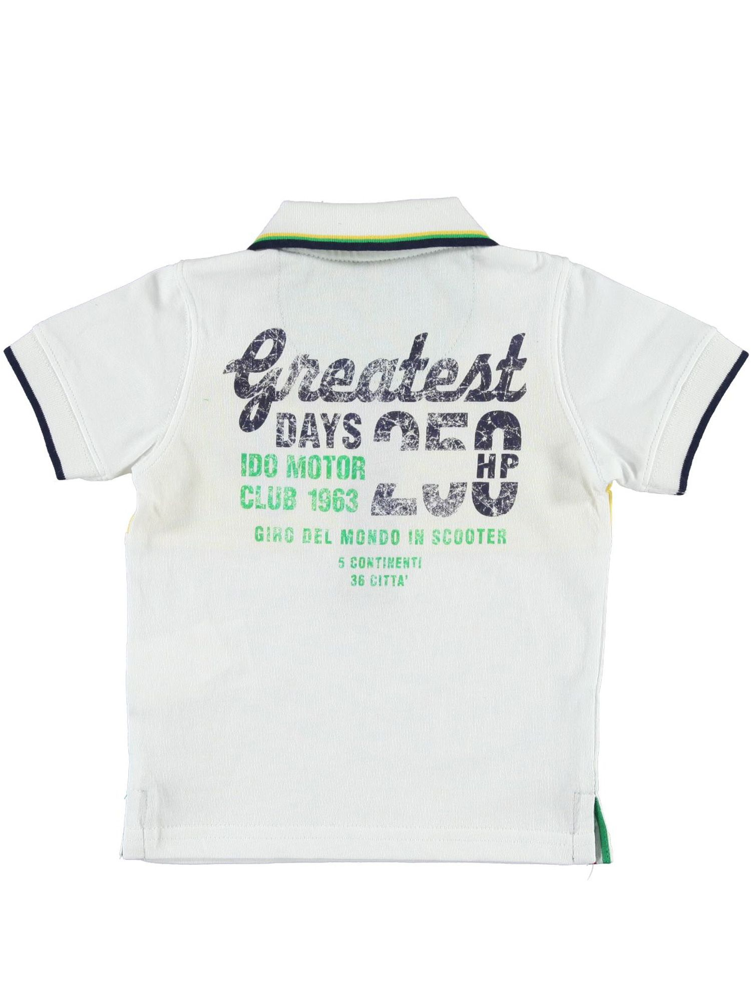 Boys printed polo shirt