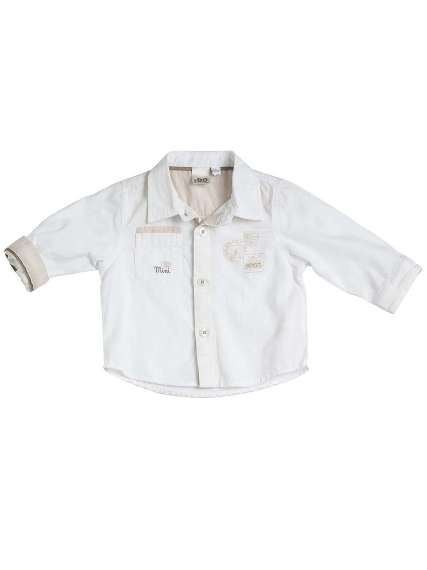 Baby boys cotton classic shirt