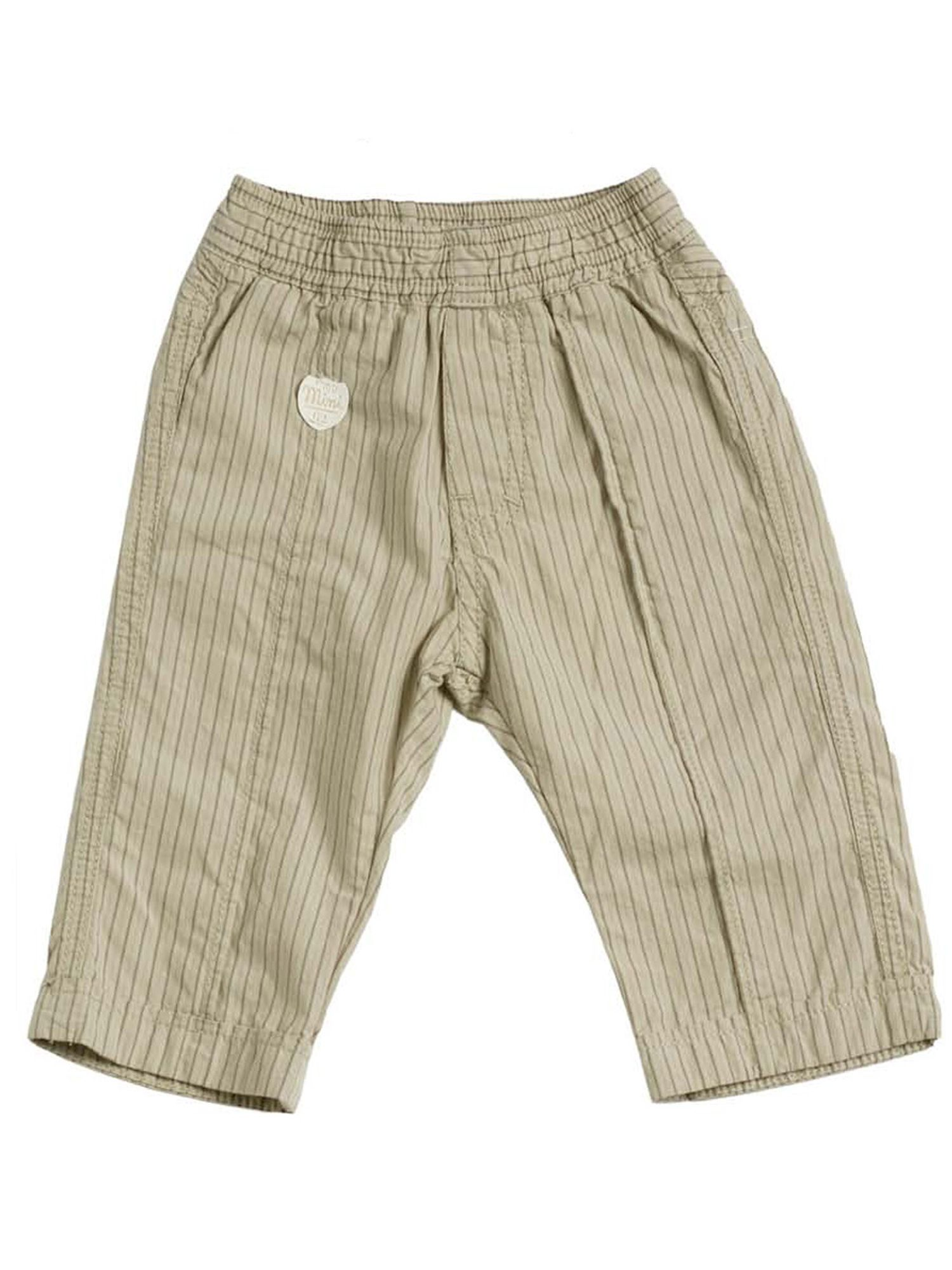 Baby boys striped cotton trousers