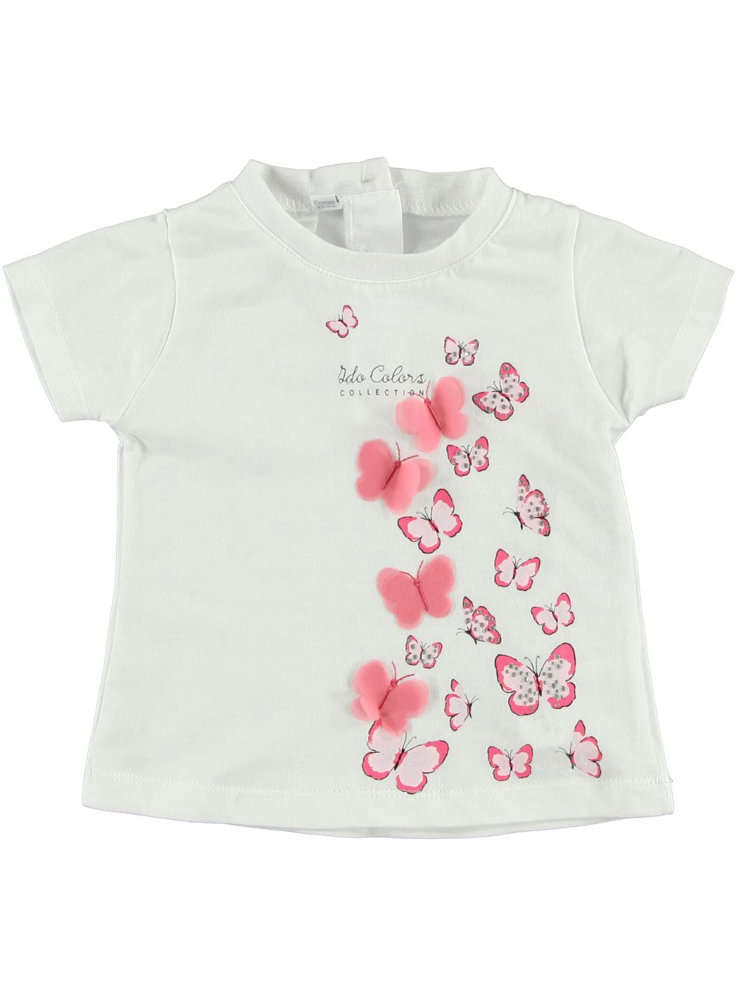 Girls butterfly printed t-shirt