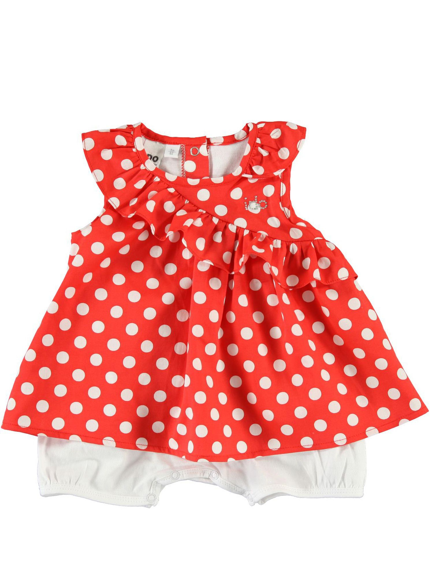 Baby girls dress and bodysuit