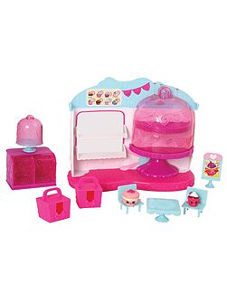Cupcake Queen Cafe Playset