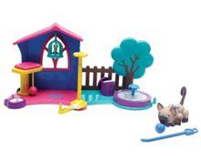 Pet Parade Kittens Play Garden Playset