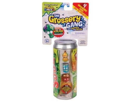The Grossery Gang Series 1 Collectable Figure 4 Pack