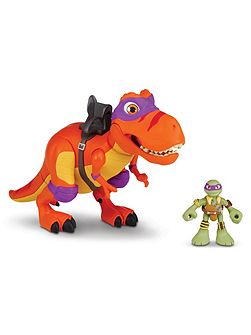 Shell Heroes T-Rex and Donnie Figure