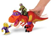 Teenage Mutant Ninja Turtles Shell Heroes T-Rex and Donnie Figure
