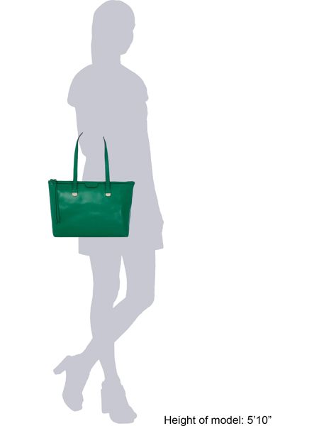 Coccinelle Green tote bag