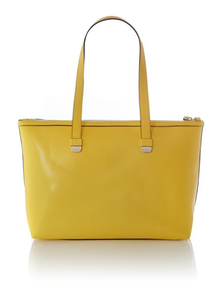 Coccinelle Yellow tote bag