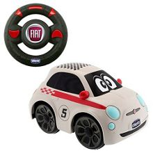Fiat 500 RC Car - White
