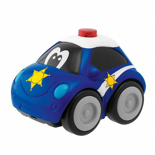 Charge & drive police car