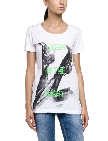 Replay T-shirt with studs