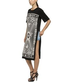 Replay Printed jersey dress