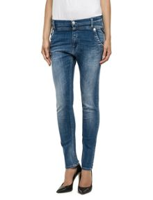 Replay Denice low crotch slim jeans