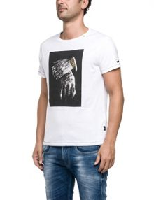 Replay T-shirt with photographic print