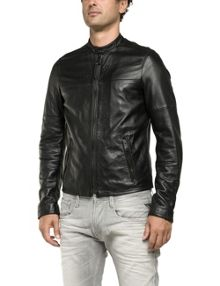 Replay Lambskin biker jacket