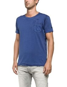 Replay T-shirt with speckled print
