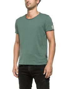 Replay Plain jersey T-shirt, round neck