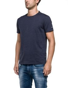 Replay Jersey T-shirt with print, round neck