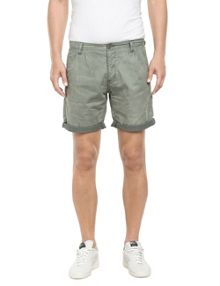 Replay Crumpled dobby bermuda shorts