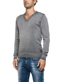 Replay V-neck pullover
