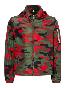 Replay Fluo camouflage jacket