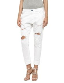 Denice low crotch slim jeans