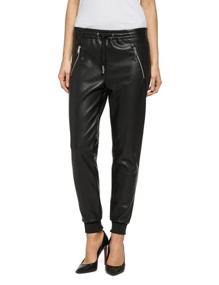 Replay Faux-Leather Jogger
