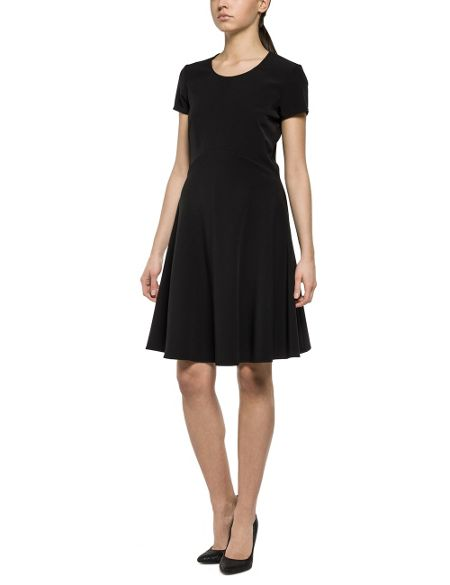 Replay Stretch Full-Skirt Dress