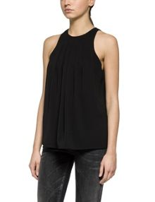 Replay Stretch Crepe Top