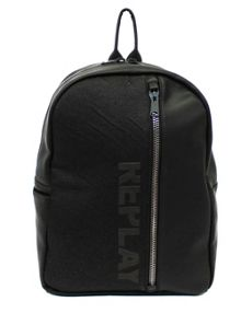 Replay Denim backpack with logo