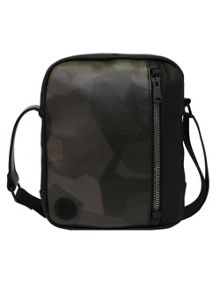 Replay Camouflage print shoulder bag