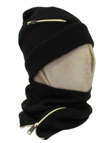 Replay Zipper tube scarf