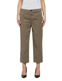 Replay Gabardine Trousers Relaxed-Fit