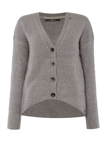 Replay Wool Cardigan
