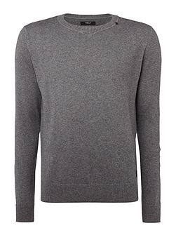 Wool and cotton blend jumper