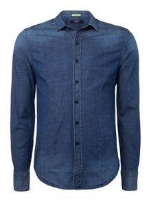 Replay Stretch denim shirt
