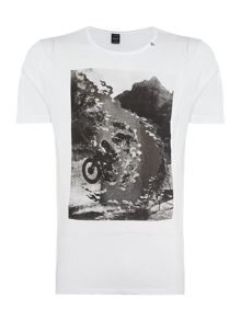 Replay Photo print t-shirt