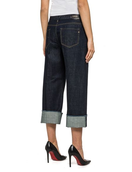 Replay Basinkim Cropped Jeans