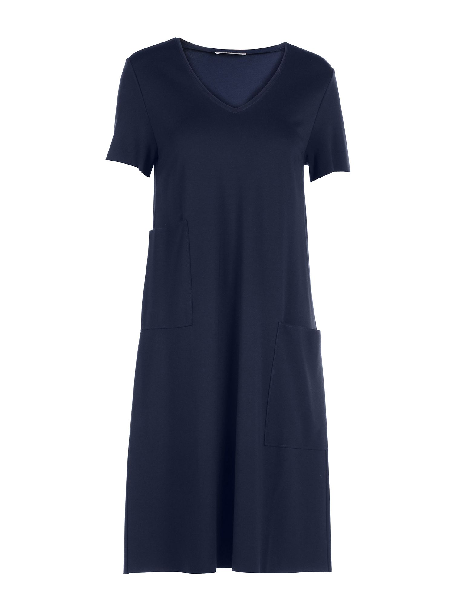 Stefanel Dress With Pockets, Blue