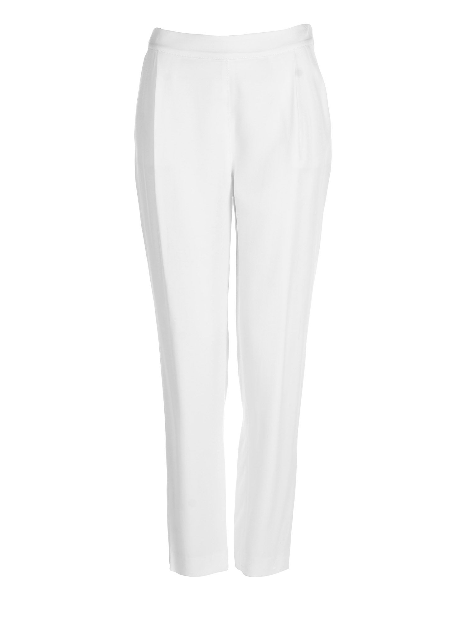 Stefanel Boyfriend Trouser, Cream