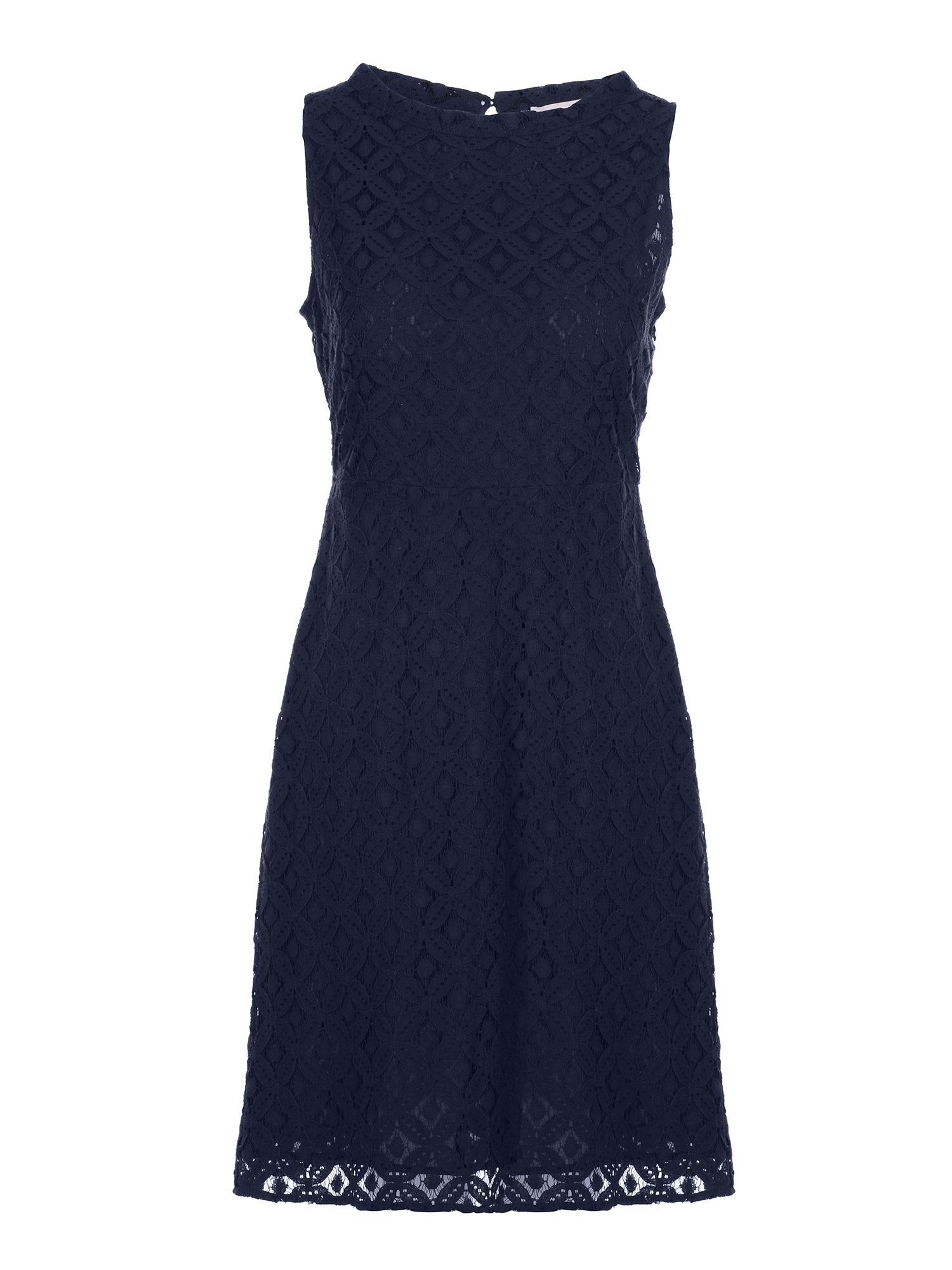 Stefanel Lace dress, Blue