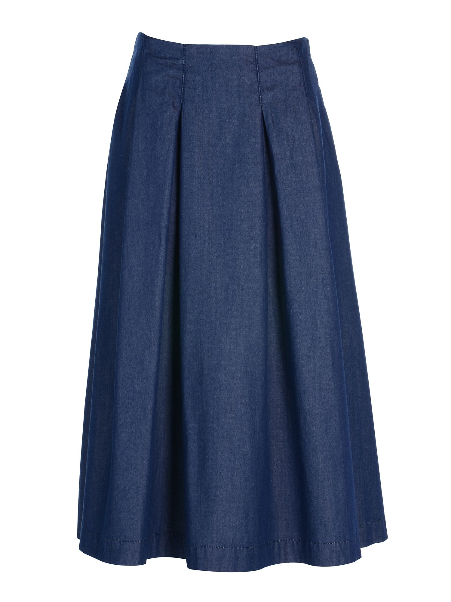 Stefanel Light Denim Skirt, Blue