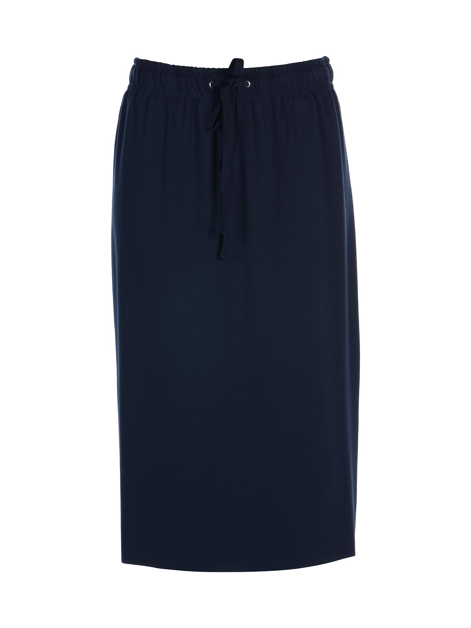 Stefanel Drawstring Skirt, Blue