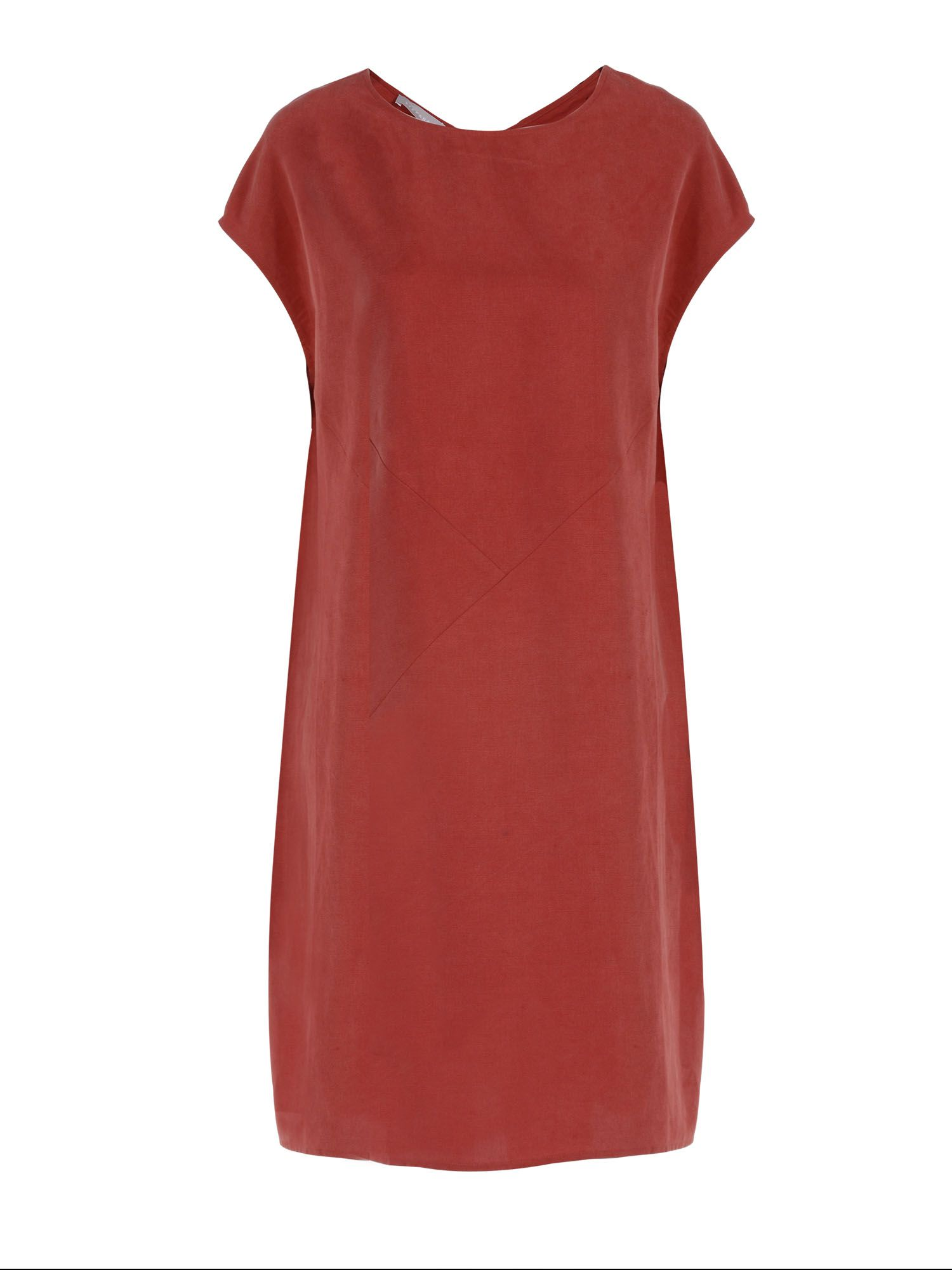 Stefanel Oversized short dress, Red